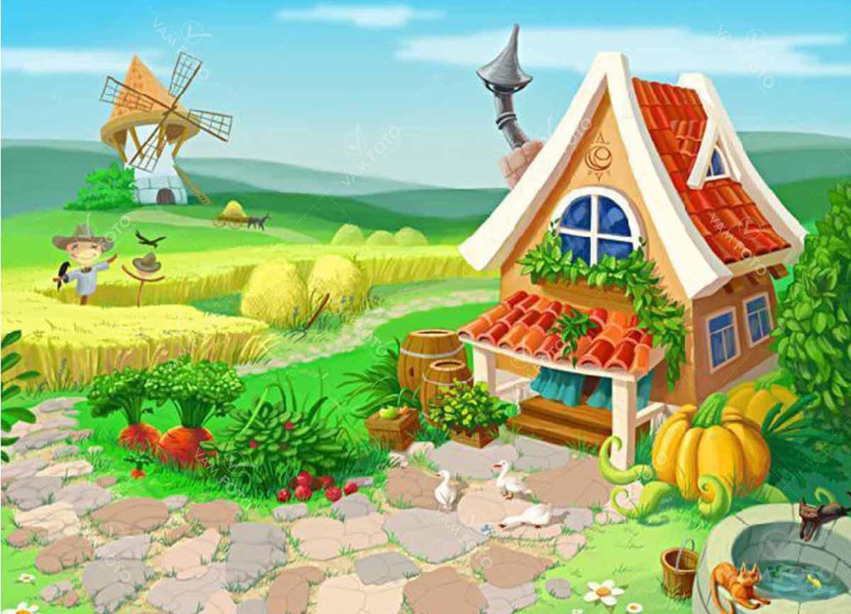 картинки в огороде сказка татьяны
